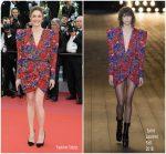 Chiara Mastroianni  In Saint Laurent @ 'Everybody Knows' Cannes Film Festival Screening