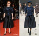 Chloë Sevigny In Chanel Haute Couture @ 'The House That Jack Built'  Cannes Film Festival Premiere