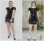 Chloë Sevigny  In Chanel   @ Vanity Fair X Chanel 2018 Cannes Film Festival Dinner