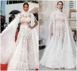 "Cindy Bruna  In Ashi Studio Couture  @ ""Burning "" Cannes Film Festival Premiere"