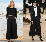 "Clémence Poesy In Chanel Couture @  ""Talents Adami""   ""Cannes Film Festival "" Photocall"