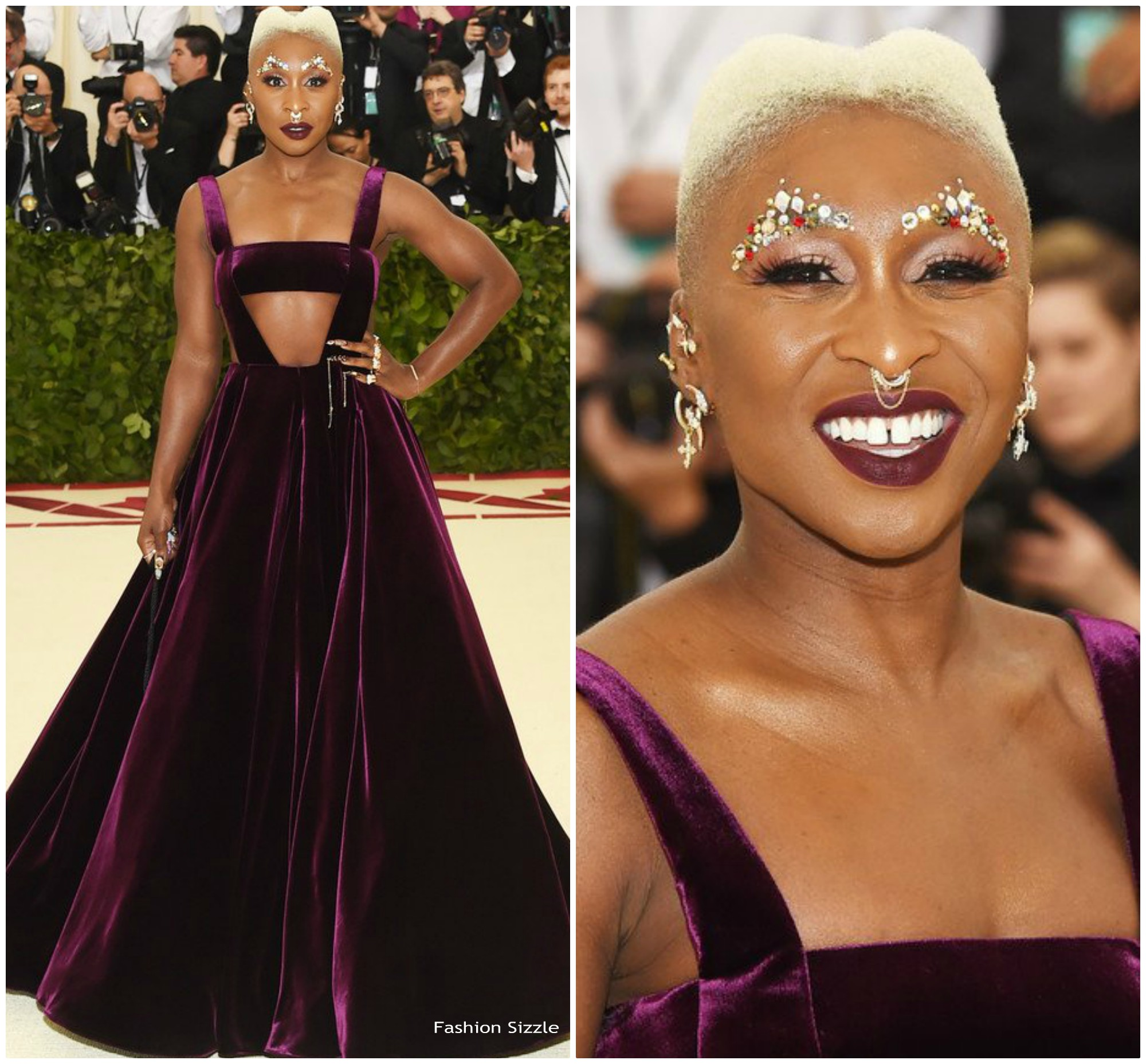 cynthia erivo in valentino 2018 met gala fashionsizzle. Black Bedroom Furniture Sets. Home Design Ideas