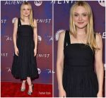 Dakota Fanning in Proenza Schouler @ 'The Alienist' FYC Event