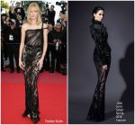 Daria Strokous  In Jean Louis Sabaji  Couture  @ 'Ash Is The Purest White (Jiang Hu Er Nv) Cannes Film Festival Premiere