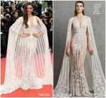 Deepika Padukone In Zuhair Murad Bridal  @ 'Sorry Angel (Plaire, Aimer Et Courir Vite)' Cannes Film Festival Premiere