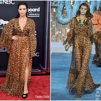 c1a05083c Demi Lovato In Christian Dior   2018 Billboard Music Awards