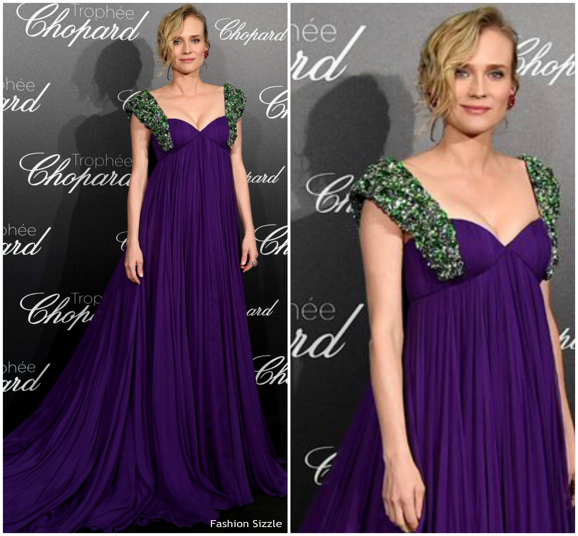 Diane Kruger In Prada   Chopard Trophée Cannes 2018 Event ... fb32882797c