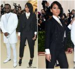 Diddy In Musika Frere & Cassie In Thom Browne  @ 2018 Met Gala