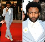 Donald Glover in Gucci @ 'Solo: A Star Wars Story' Cannes Film Festival Premiere