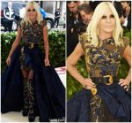 Donatella Versace In Versace  @  2018 Met Gala