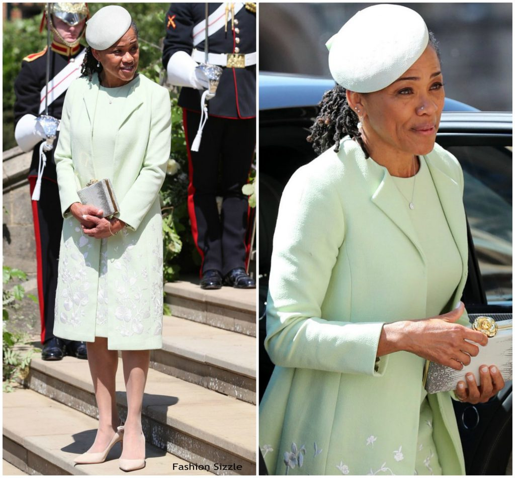Meghan Markle Mother Wedding Outfit Free Shipping Off68 In Stock