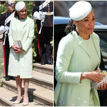 doria-ragland-in-oscar-de-la-renta-prince-harry-meghan-markles-royal-wedding