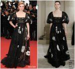 """Elizabeth Debicki  In Valentino  Haute Couture  @ """"Solo A Star Wars Story"""" Cannes Film Festival Premiere"""