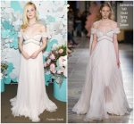 Elle Fanning In Giambattista Valli Haute Couture  @ Tiffany & Co. Paper Flowers Event And Believe In Dreams Campaign Launch