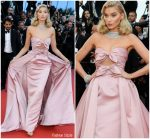 Elsa Hosk In  Alberta Ferretti @ 'Girls Of The Sun (Les Filles Du Soleil)' Cannes Film Festival Premiere