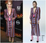 Emilia Clarke In Alessandra Rich  @ Solo: A Star Wars Story' New York Screening