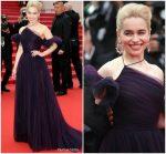 """Emilia Clarke  In Christian Dior  Haute Couture @ """"Solo :  A Star Wars Story"""" Cannes Film Festival Premiere"""