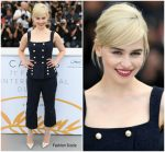 Emilia Clarke In Dolce & Gabbana  @ 'Solo: A Star Wars Story' Cannes Film Festival Photocall