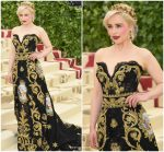 Emilia Clarke In Dolce & Gabbana  @ 2018 Met Gala