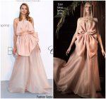 Eniko Mihalik  In Ester Abner  @ AmfAR Gala Cannes 2018