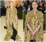 Evan Rachel Wood In Altuzarra  @ 2018 Met Gala