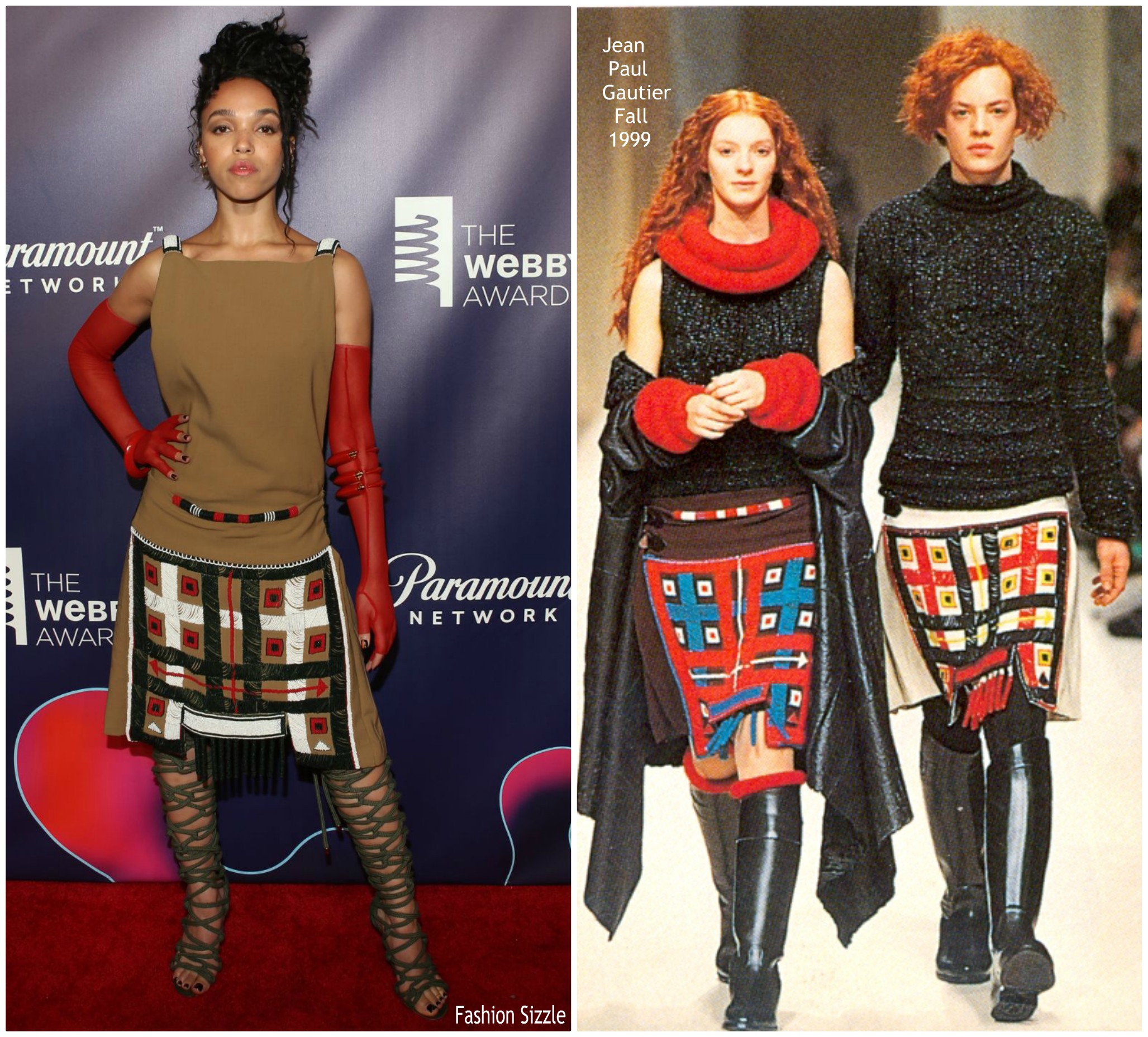 fka-twigs-in-vintage-jean-paul-gaultier-22nd-annual-webby-awards