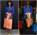Gabrielle Union In Peter Pilotto  @ 'Breaking In' Meet-And-Greet