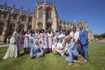 The Kingdom   Choir Styled  By  Jeanette Young For Performance @ Prince Harry and Meghan  Markle's Wedding