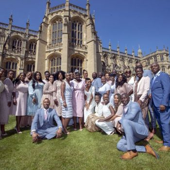 the-kingdom-choir-styled-by-jeanette-young-for-performance-prince-harry-and-meghan-markles-wedding