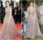 Guli Nazha  In Zuhair Murad  Couture  @ Sink Or Swim (Le Grand Bain)' Cannes Film Festival Premiere
