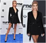 Hailey Baldwin  In David Koma @ Turner Upfront Event in New York