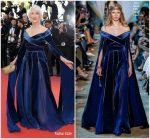 Helen Mirren In Elie Saab Haute Couture  @ 'Girls Of The Sun (Les Filles Du Soleil)' Cannes Film Festival Premiere