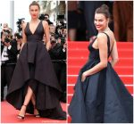 "Irina Shayk In  Twinset  @ ""Yomeddine"" Cannes Film Festival Screening"