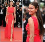 Irina Shayk  In Versace @   'Sorry Angel (Plaire, Aimer Et Courir Vite)' Cannes Film Festival Premiere
