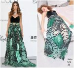 Izabel Goulart  In Valentino @ AmfAR Gala Cannes 2018