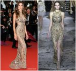 "Izabel Goulart  In Zuhair Murad Couture  @  ""Burning ""  Cannes Film Festival Premiere"