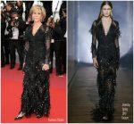 Jane Fonda  In Givenchy  Couture   @ Sink Or Swim (Le Grand Bain) Cannes Film Festival Premiere