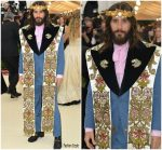 Jared Leto  In Gucci  @ 2018 Met Gala