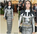 Jennifer Connelly  In Louis Vuitton  @ 2018 Met Gala