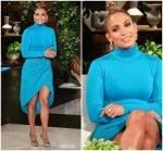 Jennifer Lopez In  Sergio Hudson @  Elllen Degeneres Show