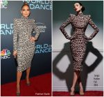 Jennifer Lopez In Sergio Hudson  @  FYC Event For NBC's 'World Of Dance'
