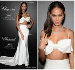 Joan Smalls  In Miu Miu  @ Chopard Secret Night Party In Cannes