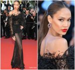 Joan Smalls In Roberto Cavalli Couture @  'Girls Of The Sun (Les Filles Du Soleil)' Cannes Film Festival Premiere