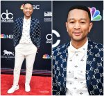 John Legend  In Gucci  @  2018 Billboard Music Awards