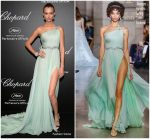 Josephine Skriver  In Georges Hobeika    @ Chopard Secret Night