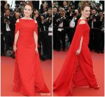 Julianne Moore In Givenchy Couture @ Everybody Knows' Cannes Film Festival Screening