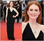 Julianne Moore In Saint Laurent @ Yomeddine' Cannes Film Festival Premiere