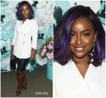 Justine Skye  In Helmut Lang  &   Alexander Wang   @ Tiffany & Co. Paper Flowers Event And Believe In Dreams Campaign Launch