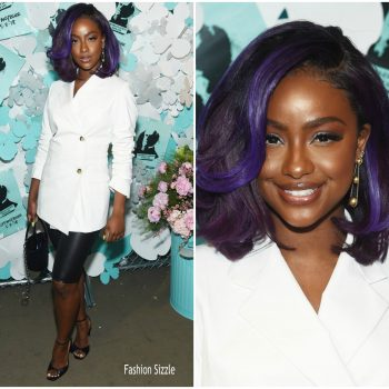 justine-skye-in-helmut-lang-alexanderpwang-tiffany-co-paper-flowers-event-and -believe-in-dreams-campaign-launch