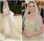 Kate Bosworth In Oscar de la Renta  @ 2018 Met Gala